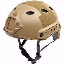 Cascos De Combate Rtv Con Rieles ( Airsoft O Paintball)