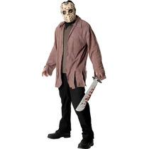 Jason Halloween Costume - Adultos Vorhees Vestido De Lujo