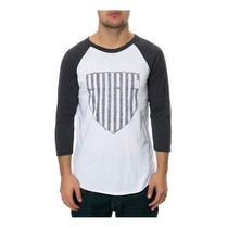 Ambig Para Hombre Vigilado El Béisbol Camiseta Estampada