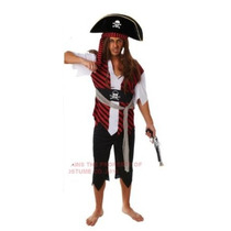 Piratas Del Caribe Disfraz - Adulto Pirata Hombre Xl