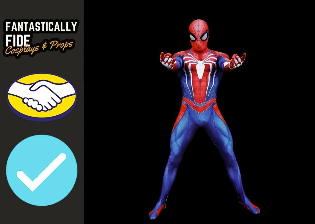 hombre araña insomniac spider-man ps4 marvel cosplay disfraz. Cargando zoom. 66c106f471ca