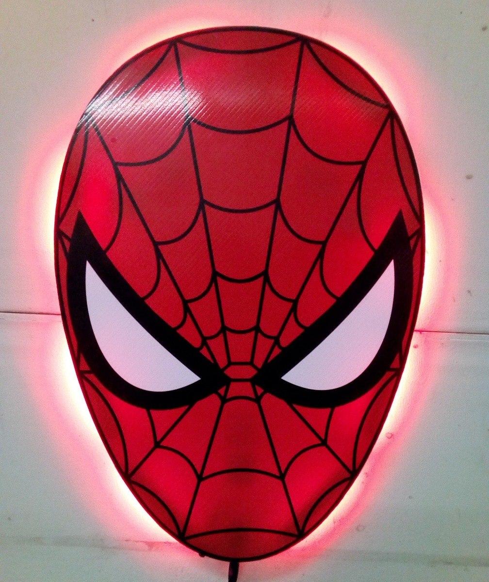 Hombre ara a lampara led cuarto de ni os decoracion for Cuartos decorados hombre arana