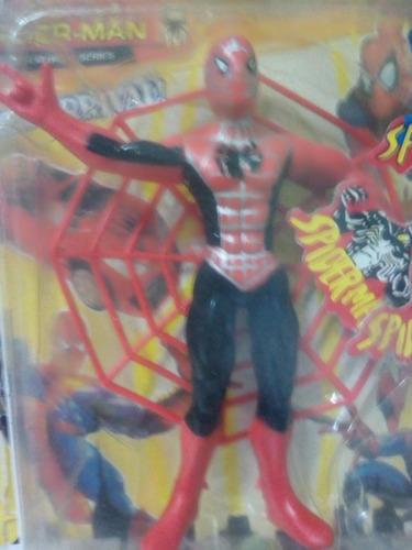 hombre araña muñeco 13 cm juguete avengers nuevo oferta niño