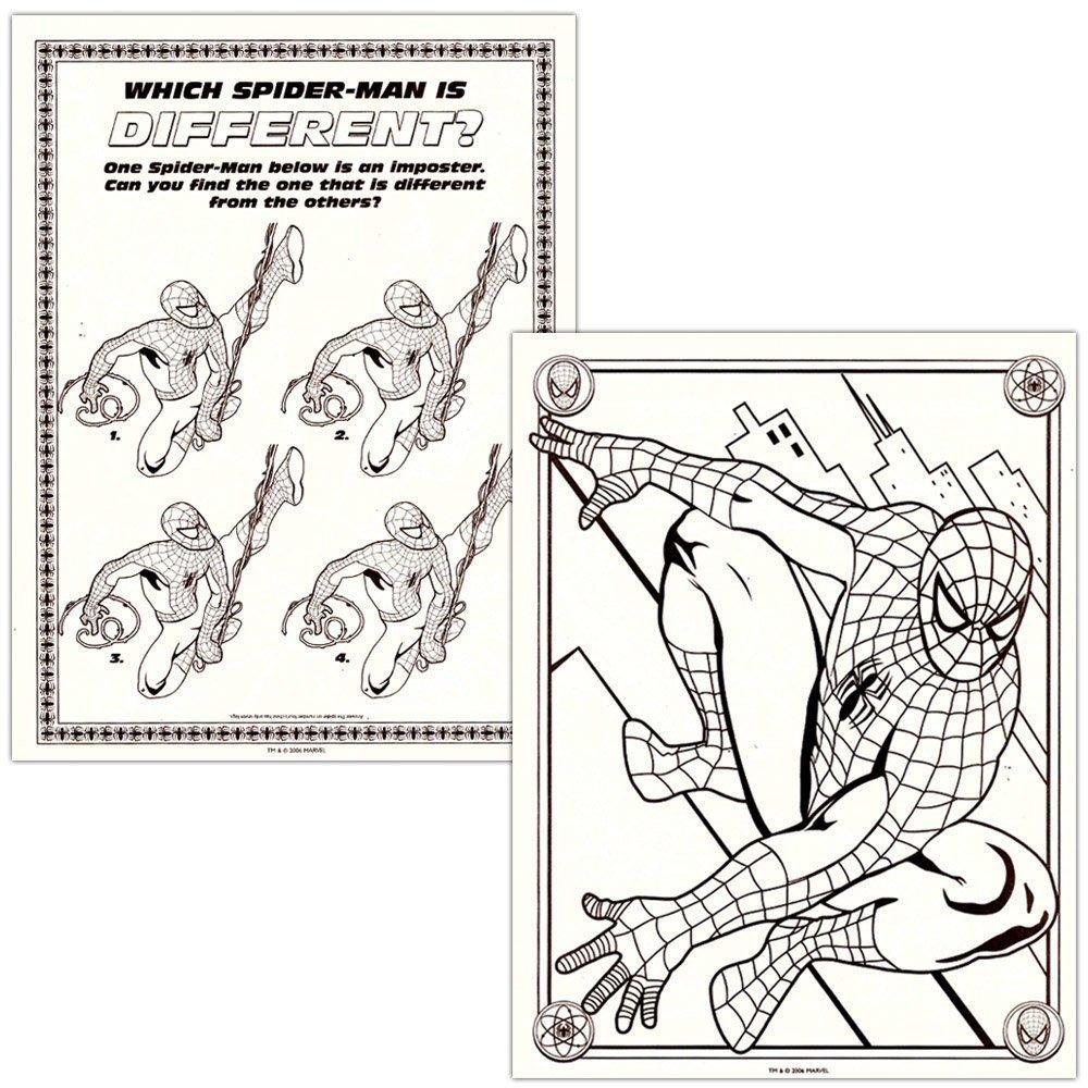 Dibujo Para Colorear Araña Fabricando Su Telaraña Para Halloween