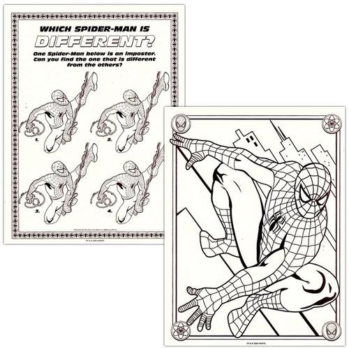 Hombre Araña Para Colorear Y Libro De Actividades Set (2 Lib ...