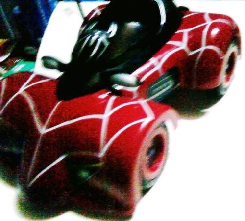 hombre araña spiderman carro control  gde. juguete 32 x 21cm