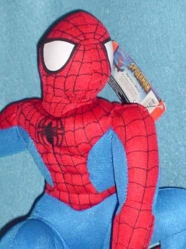 hombre araña spiderman  peluche marvel (articulo nuevo)