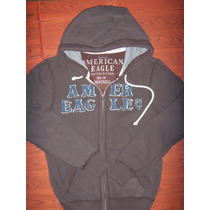 Hoddie Capota American Eagle Talla S,cafe ,solo $ 89.990
