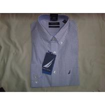 Camisa Nautica Hombre 100% Original T 151/2 Y 16