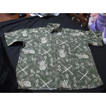 Camisa Guayabera Hawaiana Exclusiva Friday Talla M