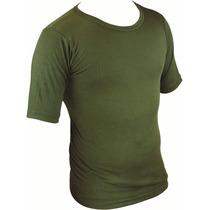 Térmica T-shirt - Highlander Manga Corta Camiseta De Oliva