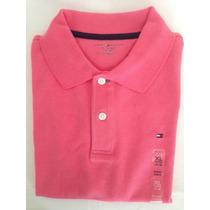 Camiseta Tommy Hilfiger Tipo Polo 100% Original 16-18 Años