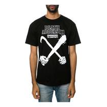 Mishka Para Hombre La Gone Negro Camiseta Estampada
