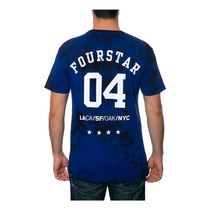 Fourstar Clothing Para Hombre El 4 Ciudades Relámpago Gráf