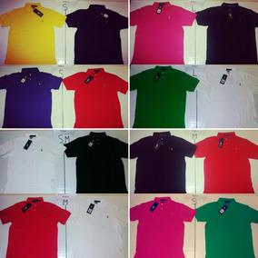 918c4f21d965e Camiseta Polo Clasica Color Hermoso - Hombre Camisetas en Ropa ...