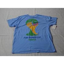 Camiseta Fifa World Cup 2014 Talla Médium #000130140814