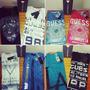 Camisetas Guess By Marciano Originales Y Nuevas Masculinas!!