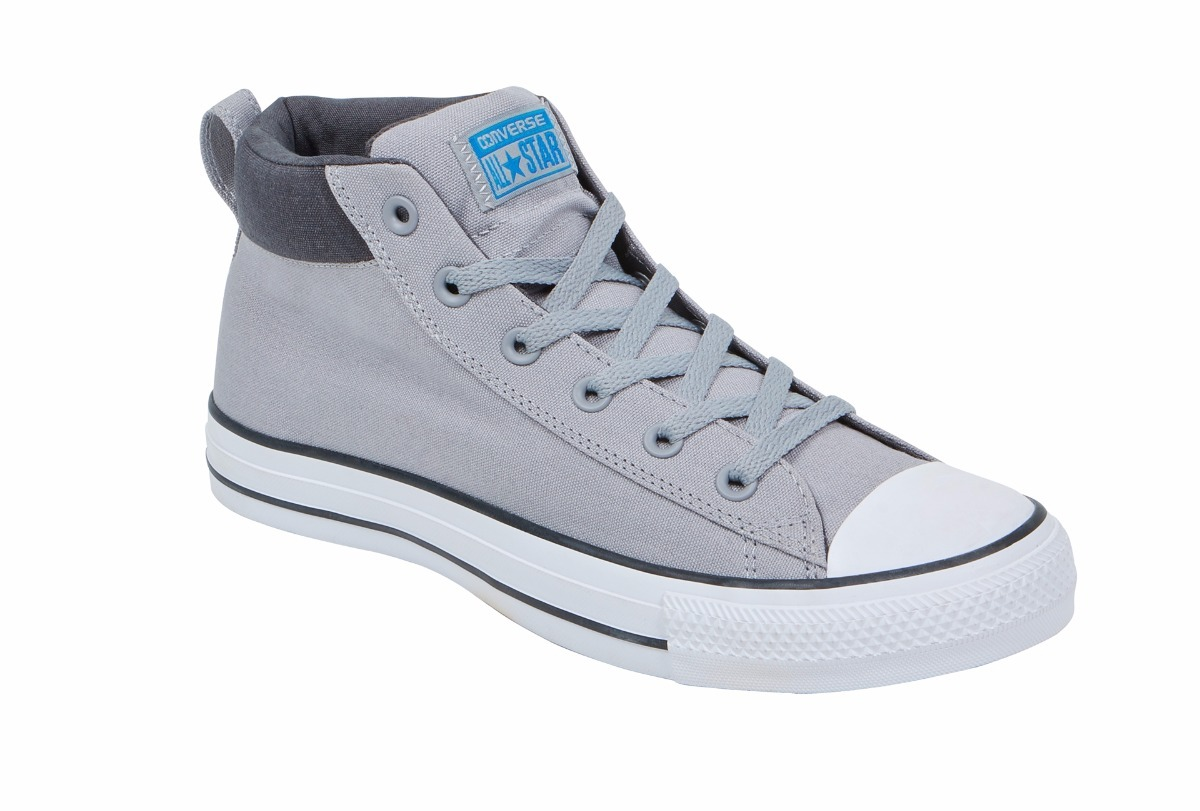 67eb43293bfd7 Tenis Converse Bota Para Hombre Casual Gris -   1