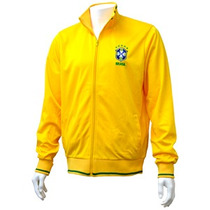 Brasil Jacket - Adultos Hombres Pequeño Brasil Football Clu