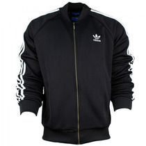 Chaqueta Adidas Hombre Casual Negro Originals Superstar