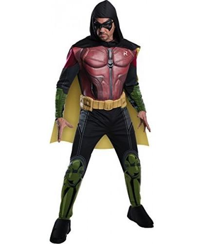 hombre de batman arkham city deluxe muscle chest robin de