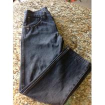 Pantalon Usado Caballero Jean Negro Wrangler 304 Talla 30.