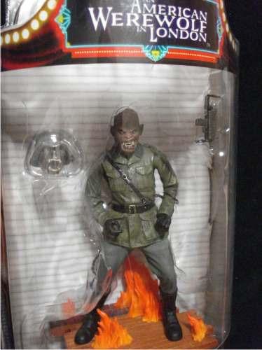 hombre lobo americano en londres / figura soldado monstruo