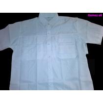 Camisas Tipo Columbia Solo Blancas Y Negras
