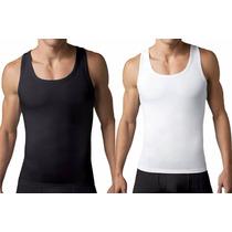 Camisa Faja Reductora Moldeadora Esqueleto Gym Hombre 2x 3xl
