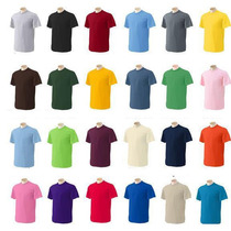 Franelas Unicolores Cuello Redondo Para Estampar O Uniforme