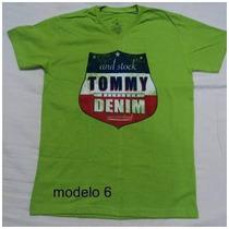 Franelas Para Caballeros Tommy Cuello V
