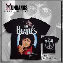 Franela Rock Metal The Beatles - John Lennon
