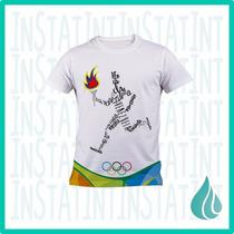 Franela Personalizada Venezuela Juegos Olimpicos Rio 2016