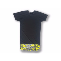 Fresca Camiseta Franela Larga Polvo Moda Masculina Actual
