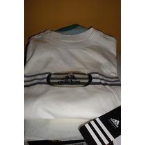 Franela Adidas Original, 100% Algodón Caballero T-s.