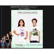 Franelas Camisas Cotillones Para Fiestas Eventos, Para Niños
