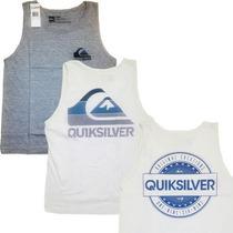 Camisetas Para Caballeros Quiksilver 100% Algodon