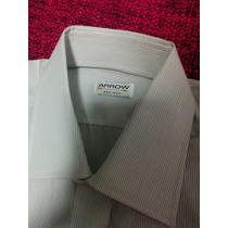 Camisa Para Caballero Arrow Talla S 100% Algodon Italiano