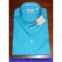Camisas Calvin Klein, Talla 16,5 - 34/35 100% Originales