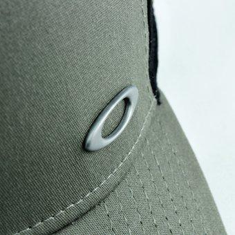 save off ece0e 9b604 gorra para hombre oakley tinfoil hat 911548-86v - gris · gorra hombre oakley  · hombre oakley gorra