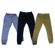Comodo Pantalon Jogger Polvo Caballero Moda Ropa Actual Fit