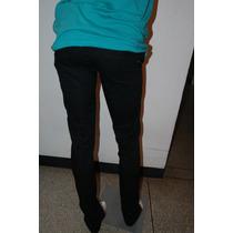 Pantalon De Caballero Tubito Negro Talla 28 30 32 34 36 Slim