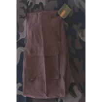 Pantalon Cargo Para Caballero Color Marron Talla 30