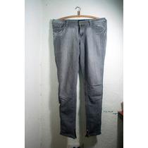 Jeans Grices Ouck Cierre En La Bota Tubo 9/10 (30)