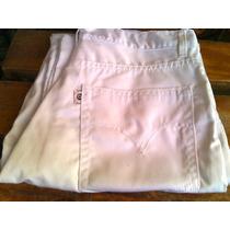 Pantalón Jean Blanco Talla 34
