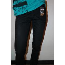 Pantalon Negro Talla 28 30 32 34 36 Pantalon Slim Fit Tubito