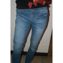Blue Jeans 34 36 38 Pantalon Strech Slim Fit Tubito Skinny