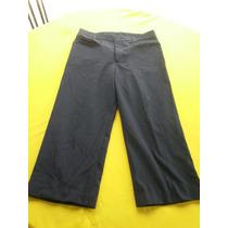 Pantalon Azul Marino Con Rayas De Vestir Talla 30 Caballero