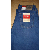 Wrangler Blue Jeans Authentics Mens Original Talla 36x34