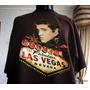 Elvis Presley Las Vegas Polera Vintage Coleccion Tl